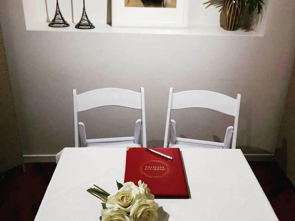 Get Married in Brisbane Lutwyche office marriage certificate